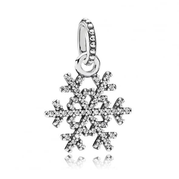 Подвеска «Серебряная снежинка»