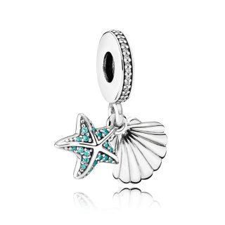 Подвеска «Морская звезда и ракушка»