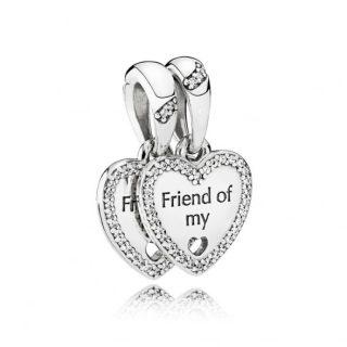 Подвеска «Сердечки дружбы»