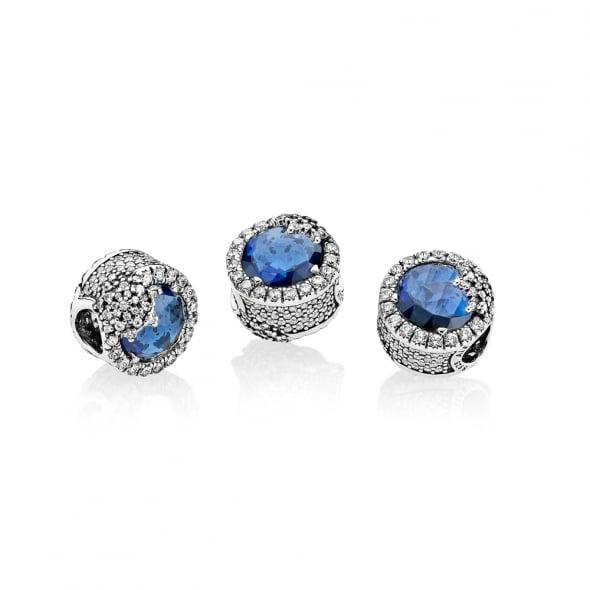 Шарм «Ослепительная голубая снежинка»