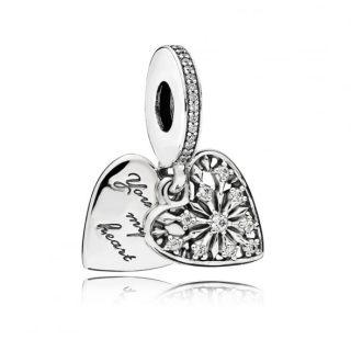 Подвеска «Морозное сердце»