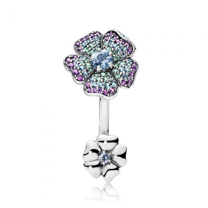 Кольцо «Тропические цветы»