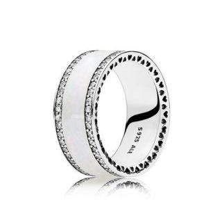 Кольцо «Сердца Пандоры» (эмаль)