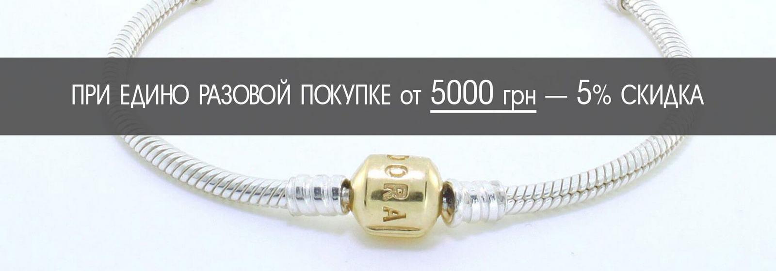Скидка 5% при покупке от 5000 грн.