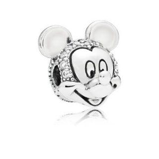"""Клипса Pandora Disney """"Сияющий портрет Микки"""""""