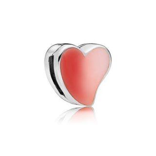 """Клипса-шарм """"Асимметричное сердце любви"""" Reflexions"""