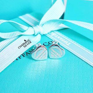 Мини серьги Tiffany