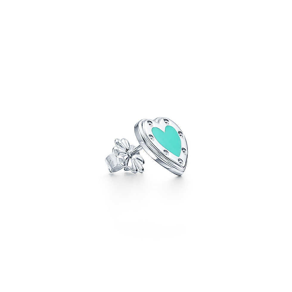 Серьги в форме сердца Love Tiffany