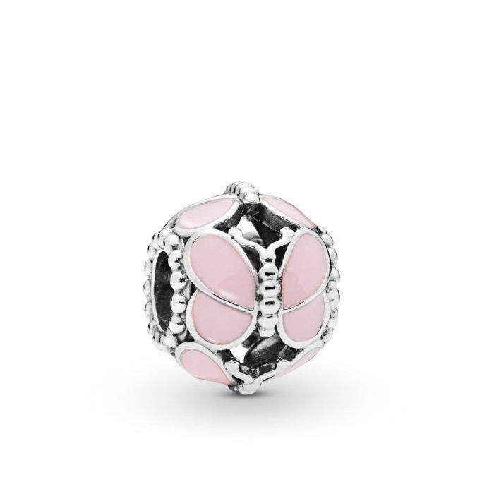 Шарм «Розовые бабочки»
