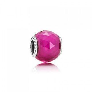 """Мурано """"Огранённый розовый кристалл"""""""