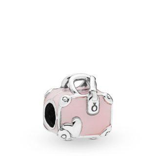 "Шарм ""Розовый чемодан"""