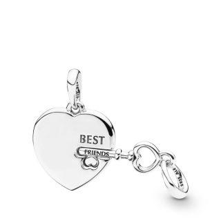 """Подвеска """"Ключ от сердца лучших друзей"""""""