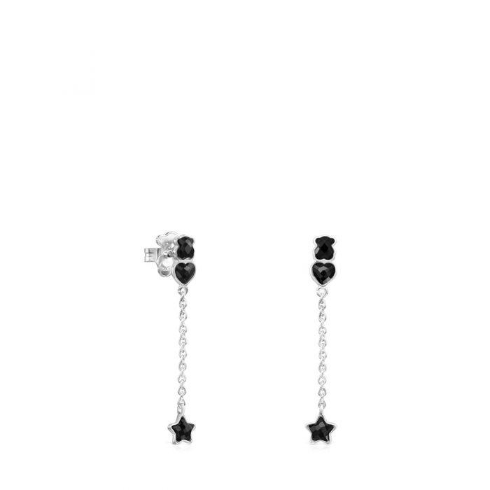 Короткие серьги Mini Onix TOUS