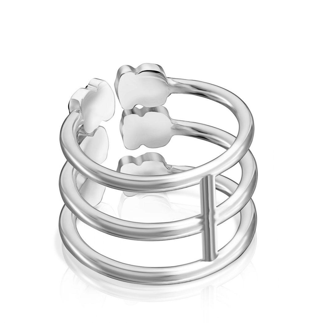 Тройное кольцо Mini Onix TOUS