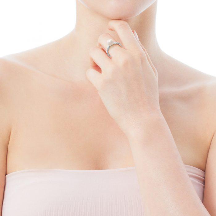 Кольцо Straight с жемчугом TOUS