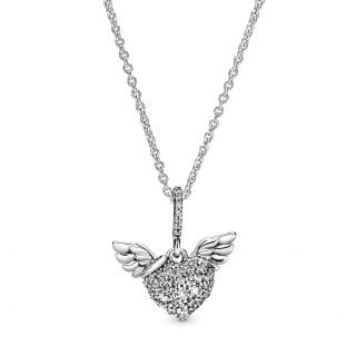 """Колье """"Сияющие крылья ангела"""""""