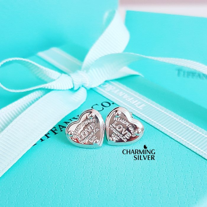 Серьги Love Tiffany