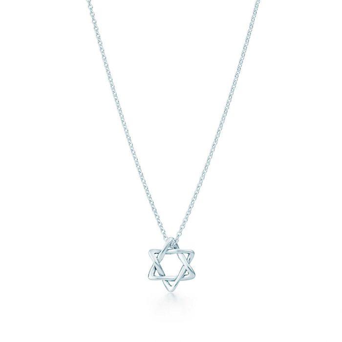 Колье Звезда Давида Tiffany