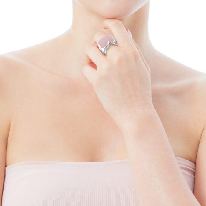 Серебряное кольцо New Color TOUS с кварцитом
