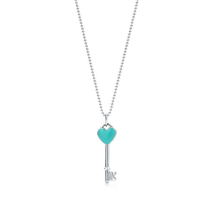 Колье Ключ с сердцем Tiffany