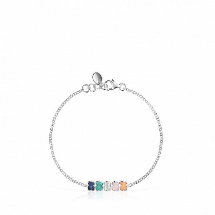 Браслет Mini Color TOUS с драгоценными камнями