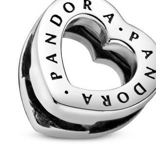 "Клипса-шарм ""Сердце Pandora"" Reflexions"