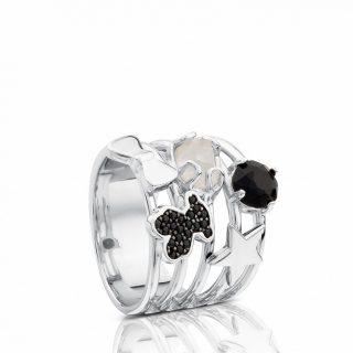 Кольцо Join TOUS с драгоценными камнями