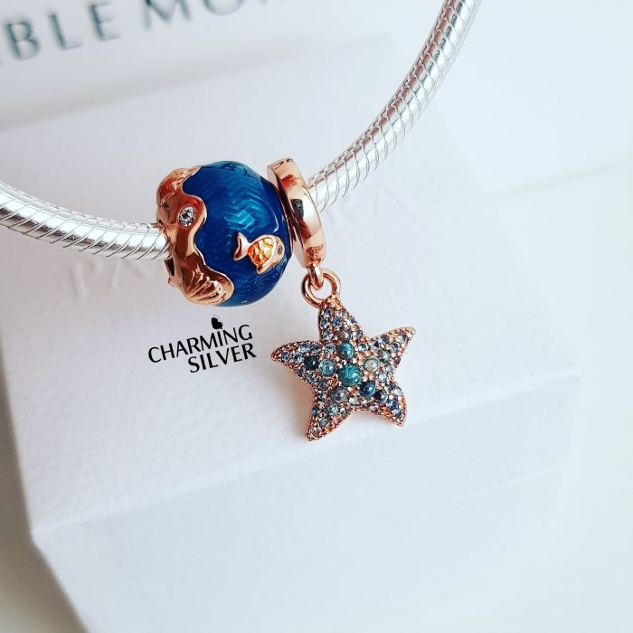 """Подвеска Pandora """"Сверкающая морская звезда"""""""