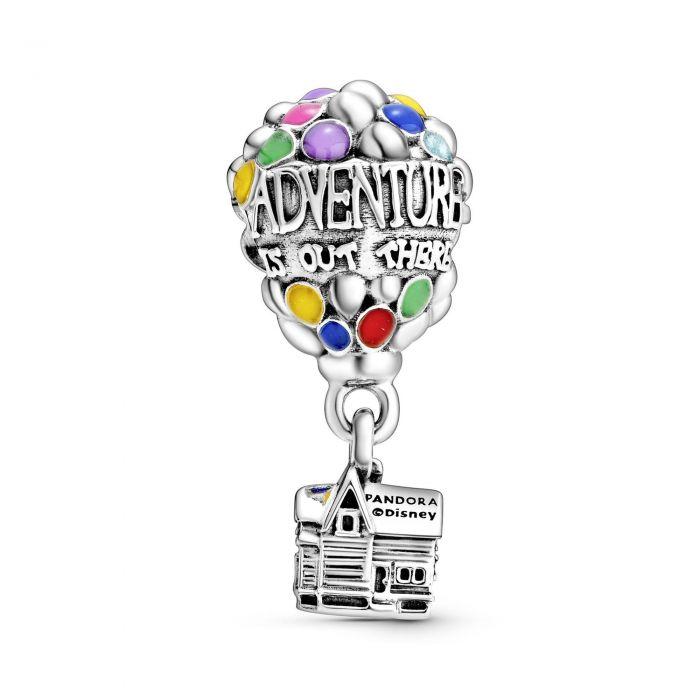 """Подвеска Pandora Disney """"Вверх. Дом с шариками"""""""