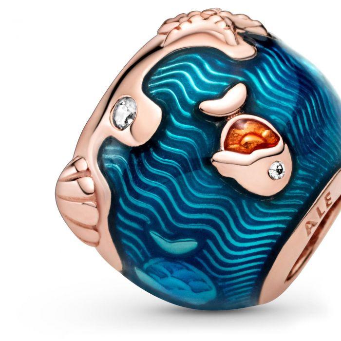 """Шарм Pandora """"Океанические волны и рыбки"""""""