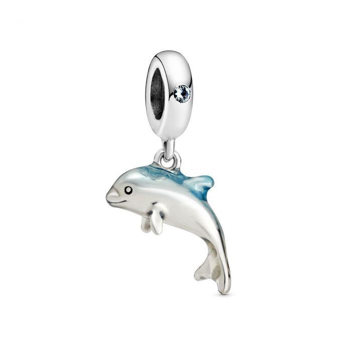 """Подвеска Pandora """"Мерцающий дельфин"""""""