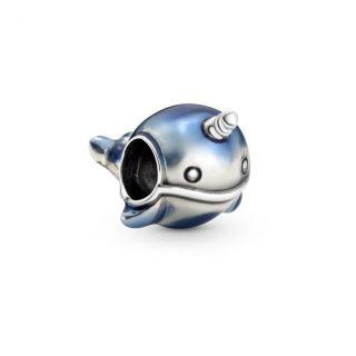 """Подвеска Pandora """"Мерцающий синий кит"""""""