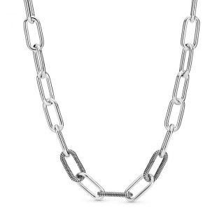 Серебряное колье Pandora ME