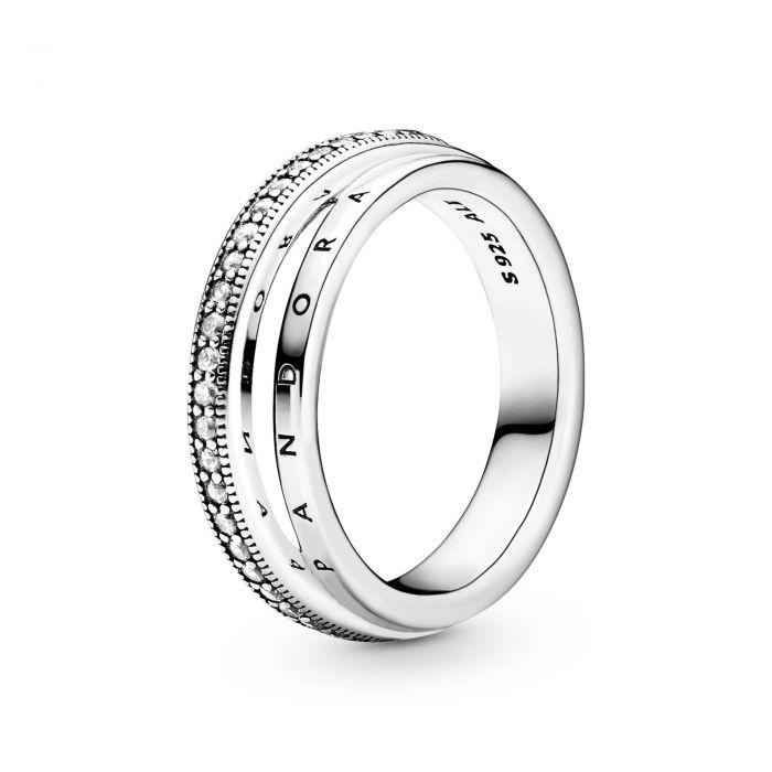 """Тройное кольцо """"Логомания"""""""