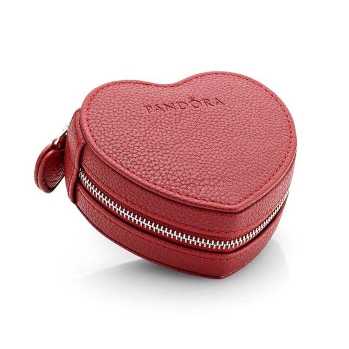 Коробка Pandora для браслетов и шармов в форме сердца