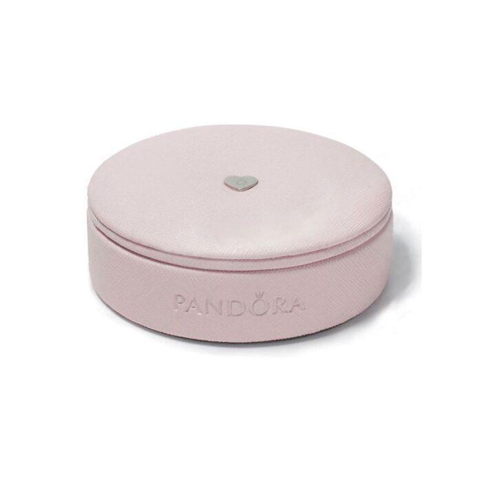 Круглая коробка Pandora для браслетов и шармов