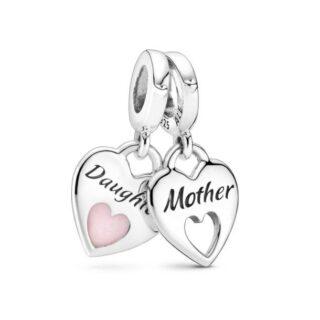 """Подвеска Pandora """"Мама и дочь"""""""