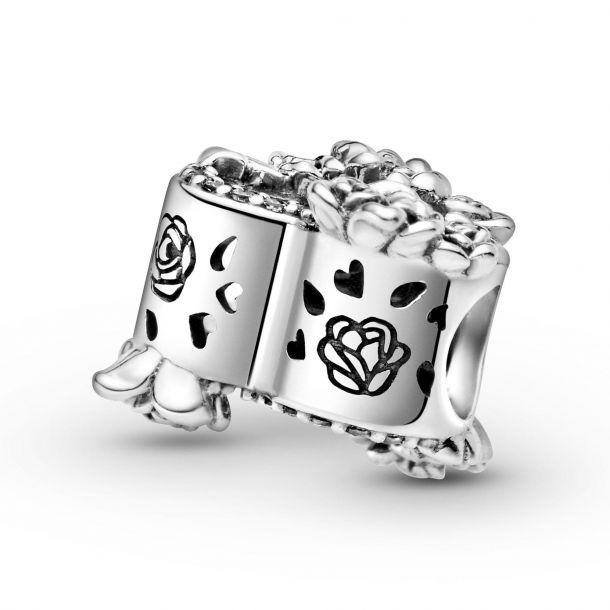 """Шарм Pandora """"Сердце и розы"""""""