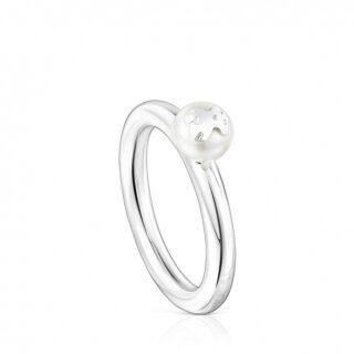 Кольцо Icon Pearl TOUS с жемчугом арт: 01257550