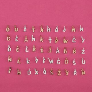 Подвески буквы Alphabet TOUS