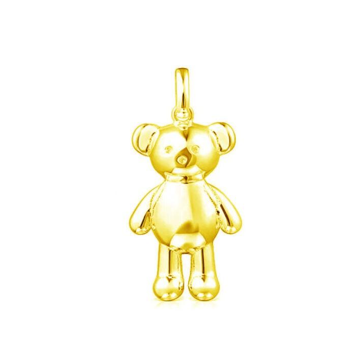 Кулон Teddy Bear из желтого вермеля TOUS